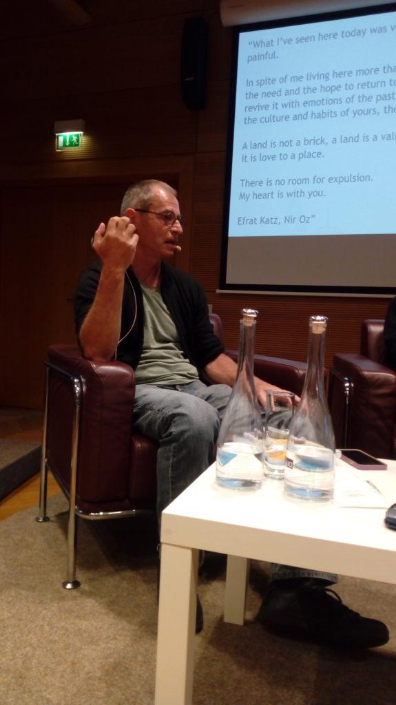 Eitan Bronstein, opposant israélien, émigré fin 2019 en Belgique