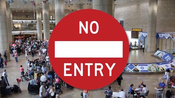 Vexations et refoulements en série à l'aéroport de Tel Aviv