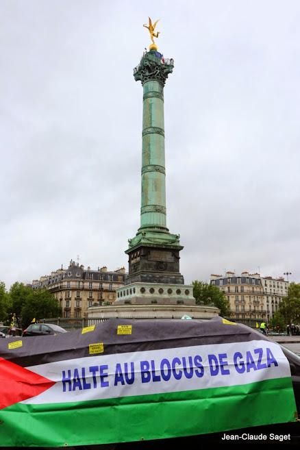 Halte au blocus de Gaza