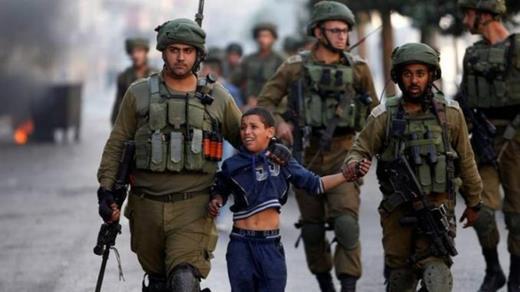 Enfants palestiniens détenus pendant l'épidémie de Covid-19