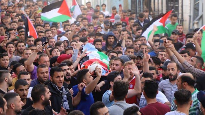 Ziad Qaisia, 15 ans, assassiné par l'armée Israélienne près d'Hébron