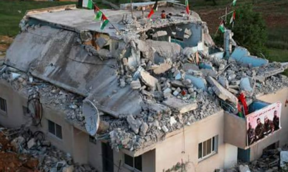 Punition collectives : une nouvelle maison palestinienne détruite par Israel