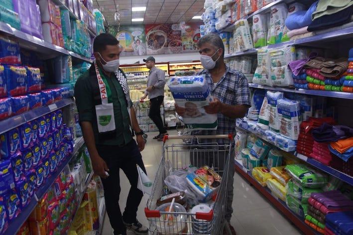 Collecte pour 600 familles démunies de Gaza