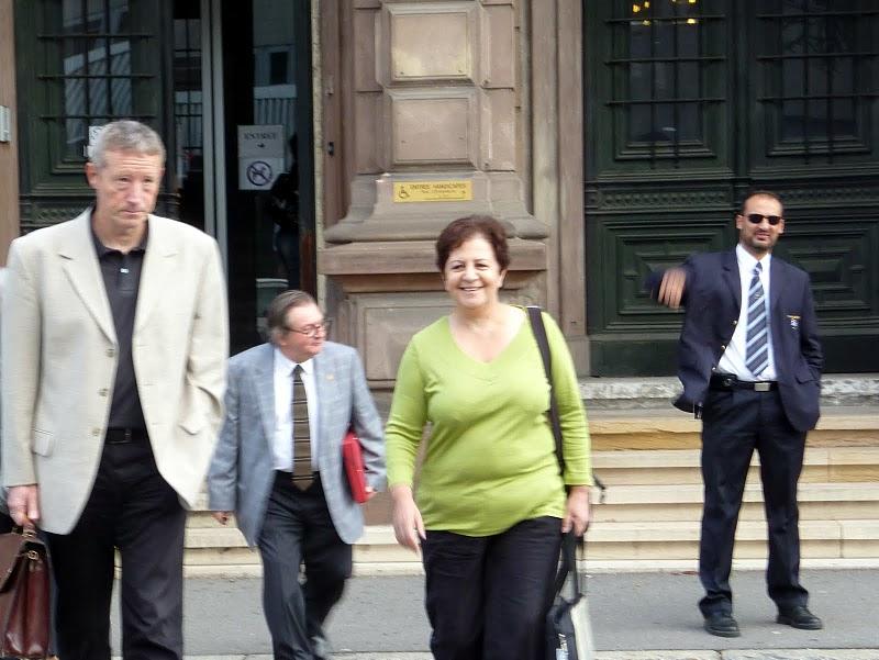 Interview de Farida Trichine après la victoire remportée par les 12 militants BDS de Mulhouse.