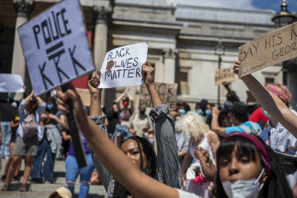 George Floyd protestation à Londres
