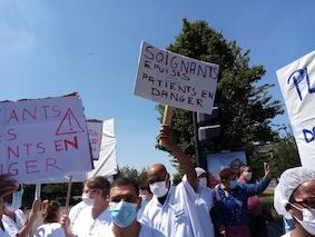 Manifestation pour la santé le mardi 16 juin