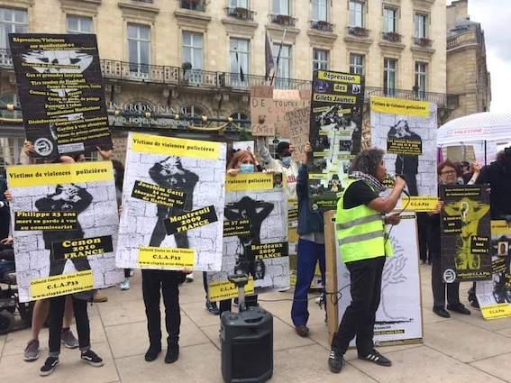 Manifestation contre les violences policières le 9 juin à Bordeaux