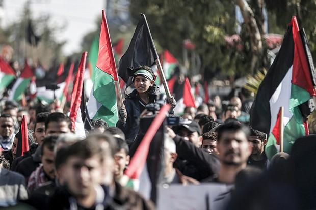 Manifestations massives à Gaza contre le plan d'annexion !