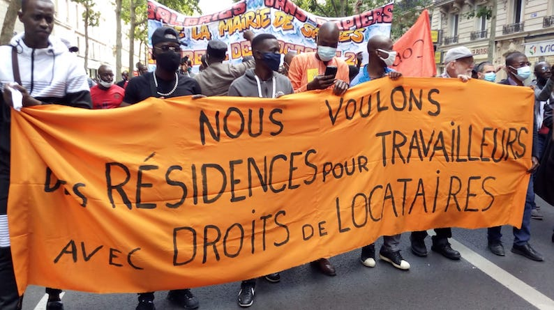 Manifs réussies pour les sans papiers le 20 juin 2020 dans toute la France