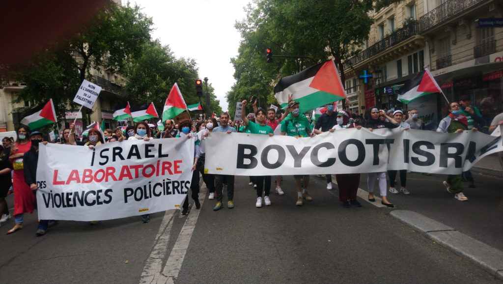 Belle manif Palestine à Paris Merci à tous ! (Photos)