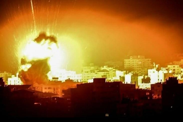 Encore des bombardements sur Gaza cette nuit (dimanche 5 juillet)!