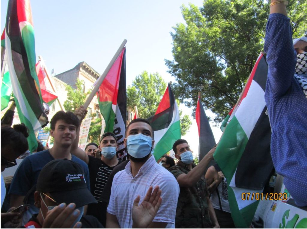 Manifestations contre l'annexion dans le monde (Photos)