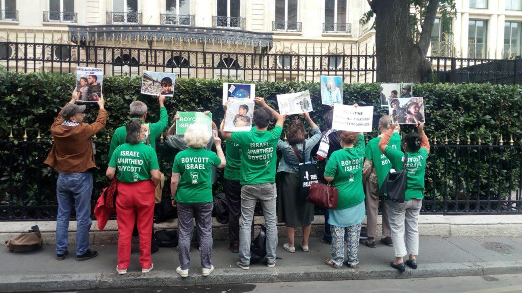 Militants BDS inculpés à Berlin : Une lettre remise à l'ambassadeur d'Allemagne à Paris (Vidéo)