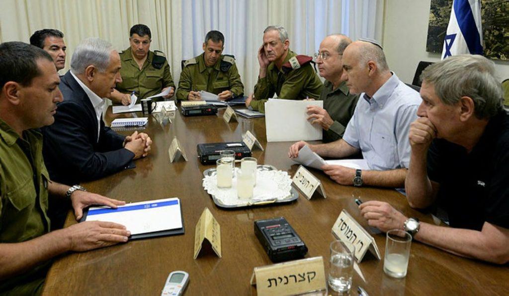 Les criminels de guerre israéliens préparent l'attaque de Gaza, juin 2014