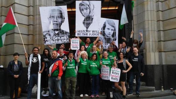 Victoire pour les trois militants BDS en procès à Berlin ! (Album photos)