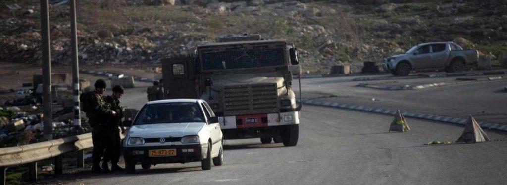 "Checkpoints ""volants"" en Palestine occupée"
