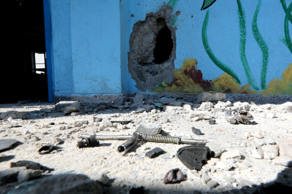Israel bombarde une école à Gaza