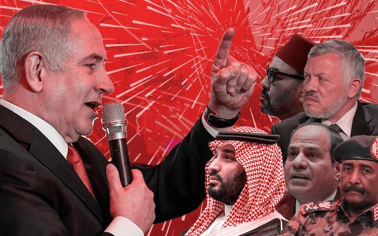 """Les Emirats Arabes Unis, une """"démocratie avancée"""": foi de Netanyahou"""