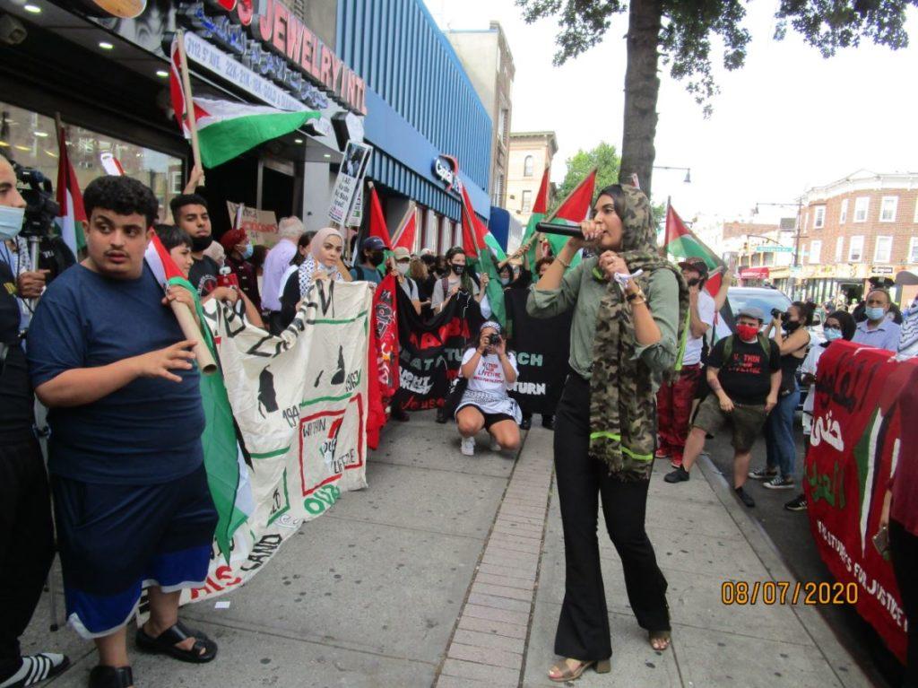 Manifestation pour la Palestine à New York
