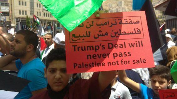 """""""Non au triangle de la normalisation"""", disent les prisonniers palestiniens"""