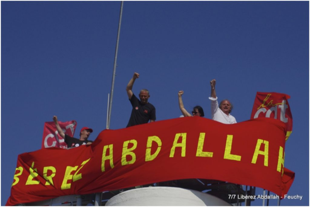 Paris : Rassemblement pour Georges Abdallah !