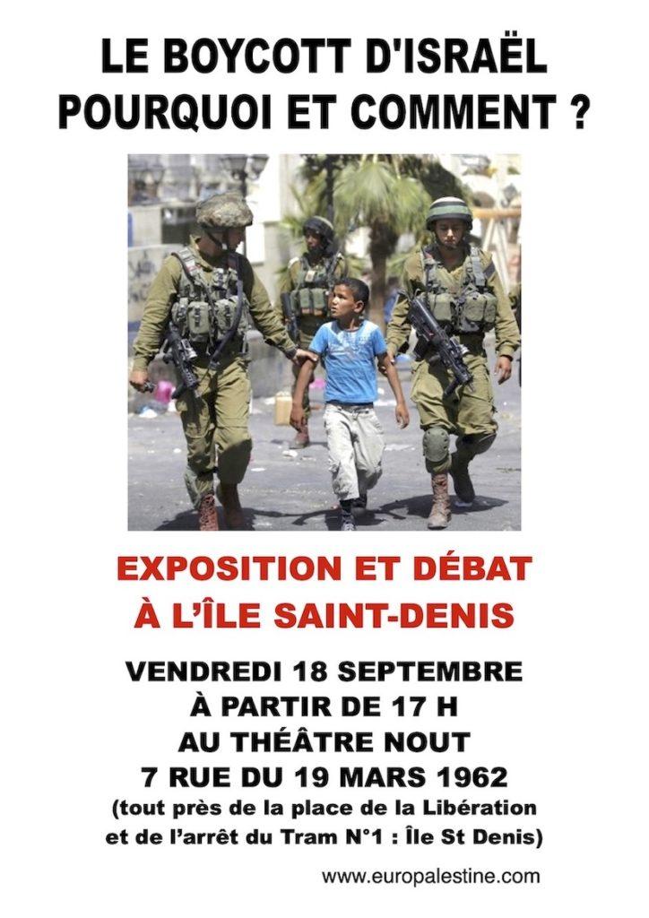 RV ce vendredi à l'Ile Saint-Denis (93) !