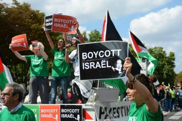 Photo appel au Boycott dIsraël