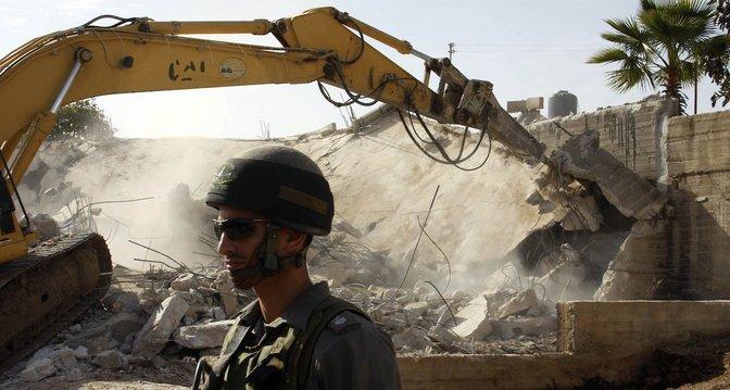 Israel : le confinement n'interrompt pas les démolitions de maisons palestiniennes !