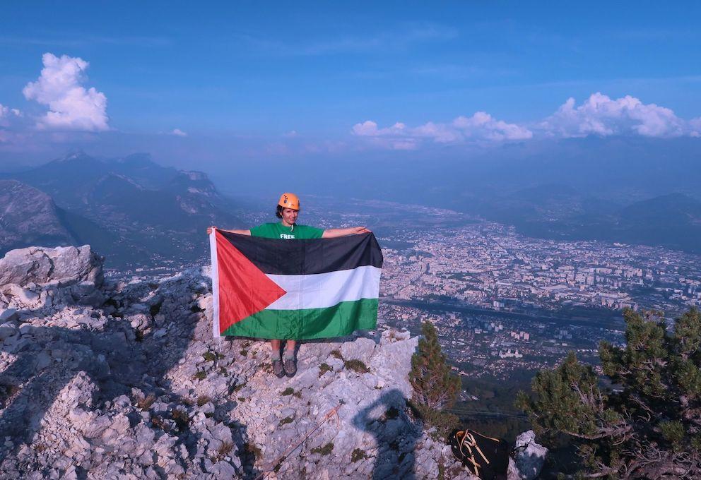 BDS dans le Vercors : Même les militaires envoyés n'ont pu cacher la Palestine et BDS