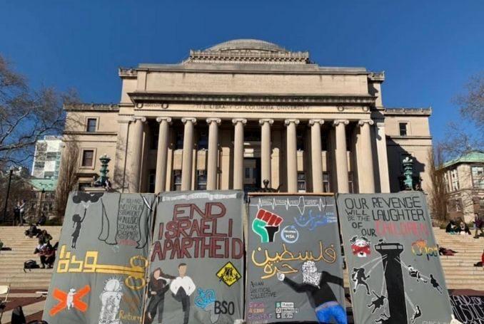 New-York : Les étudiants de l'Université de Columbia adoptent le BDS