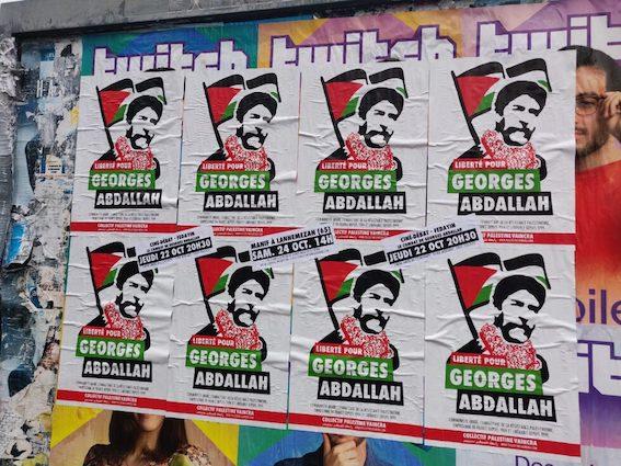 Nombreuses actions de solidarité avec Georges Abdallah