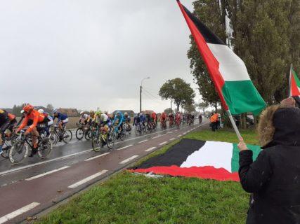Cyclisme : Action en Belgique contre le blanchiment de l'apartheid israélien