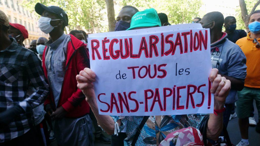 """Marche des sans-Papiers : """"Nous voulons marcher vers l'Elysée !"""""""