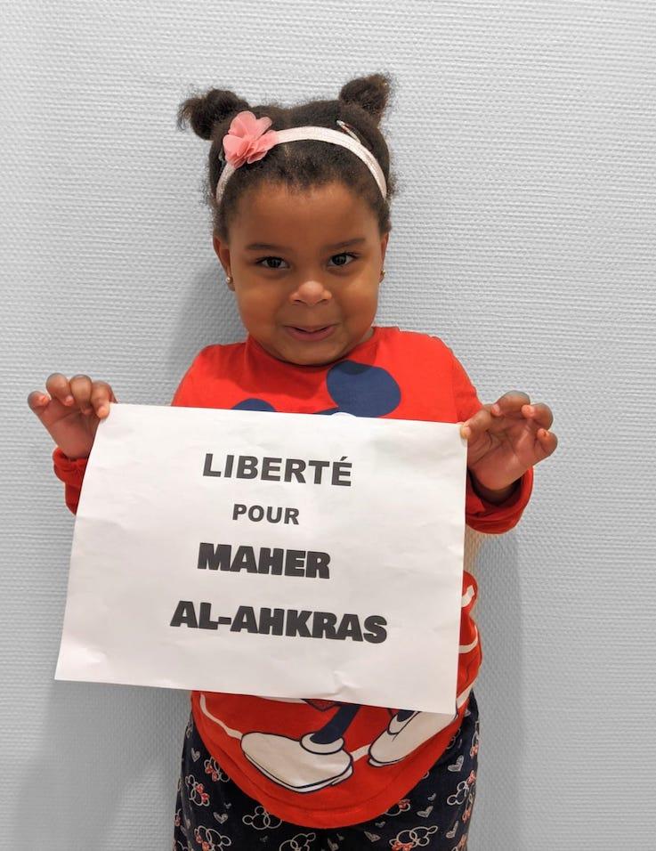 Les visages de la solidarité avec Maher Al-Akhras (Photos)