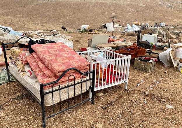 Démolitions à grande échelle dans la Vallée du Jourdain : Merci les régimes du Golfe !