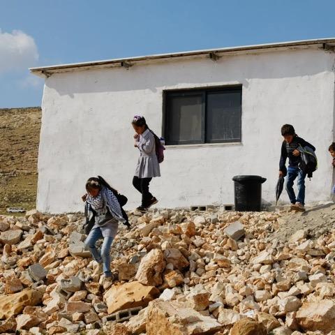 Israel veut détruire une école neuve en Cisjordanie