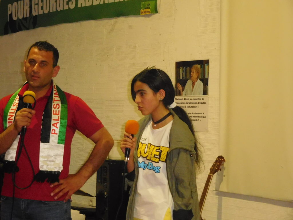 Exigeons la libération de Suhaib, arrêté par l'Autorité Palestinienne !
