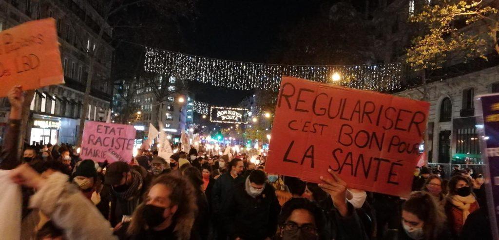 Très belle marche des solidarités vendredi soir à Paris (Photos)