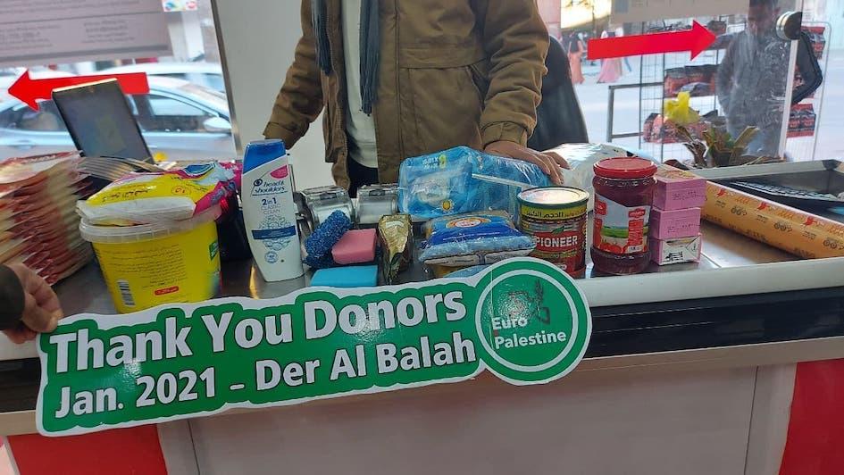 Nouvelle distribution alimentaire à Gaza grâce à vous !