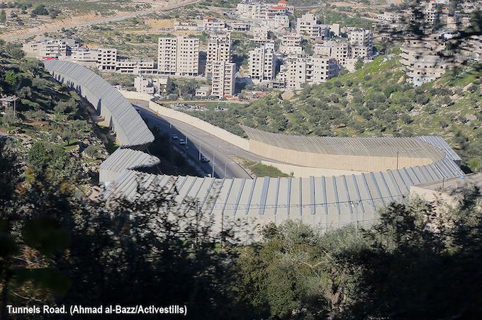 Israël : Les projets routiers de l'apartheid