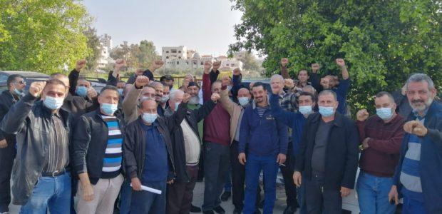 Victoire des travailleurs palestiniens en grève chez Yamit !!