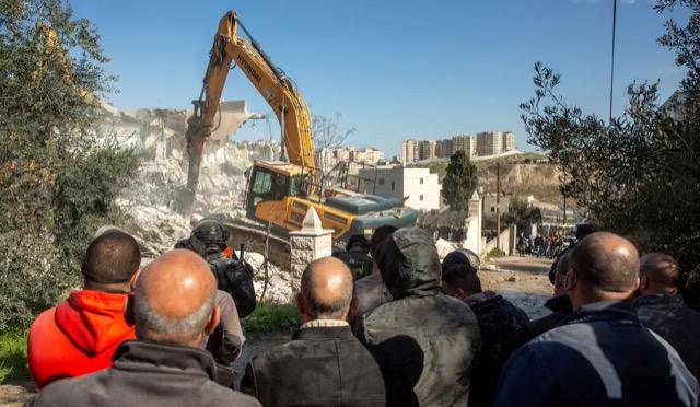 Une maison démolie à Jérusalem pour punir un  gardien de l'Esplanade des Mosquées