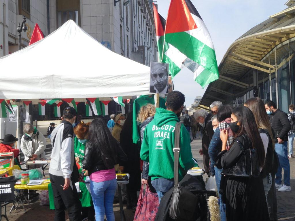 A Paris, la Palestine et la campagne BDS s'affichent (Photos)