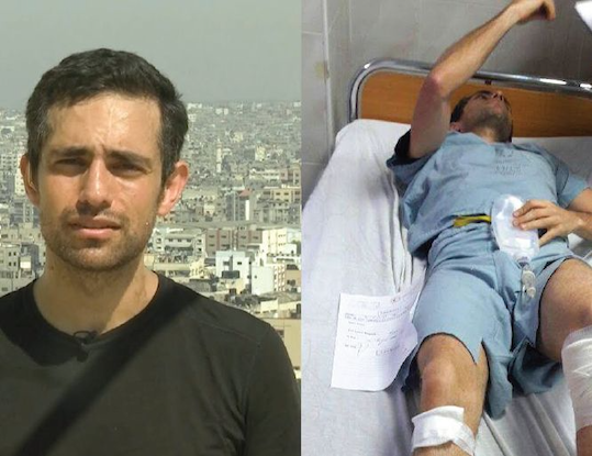 Le médecin canadien blessé par Israël relance L'ONU