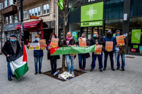 En Belgique, Charleroi affiche sa solidarité avec une action de boycott de TEVA