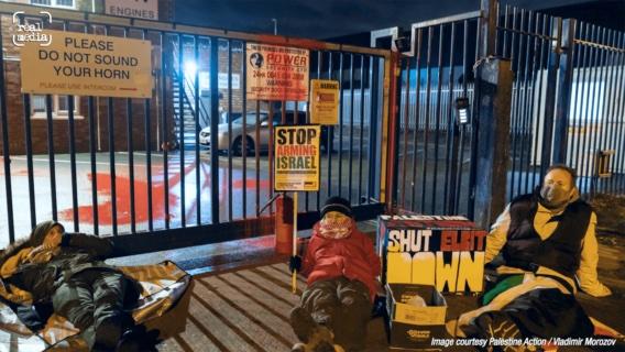 Solidarité avec les militants qui ont occupé Elbit en Angleterre!