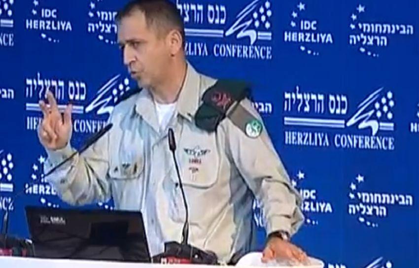 Macron reçoit en ce moment le chef d'Etat major de l'armée israélienne...