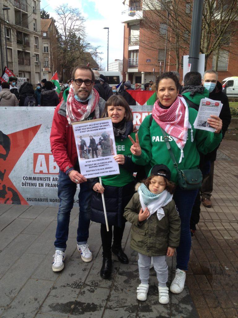 Rassemblement à Lille : TEVA de plus en plus impopulaire