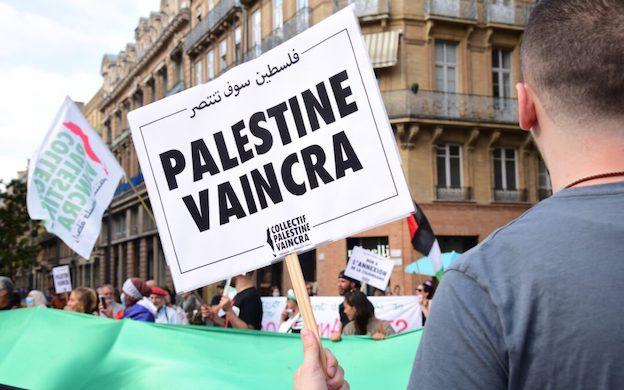 Un député LERM demande la dissolution du Collectif Palestine Vaincra !!