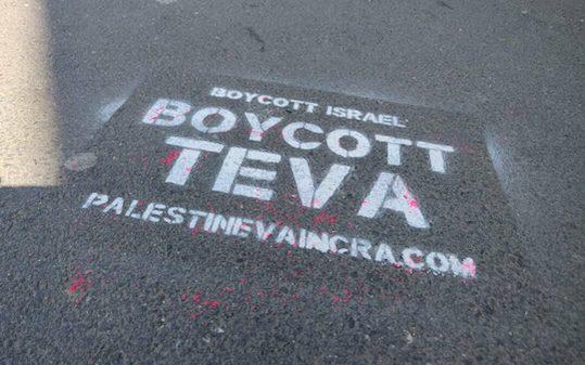 A Toulouse comme ailleurs, les actions se multiplient pour le boycott de Teva !